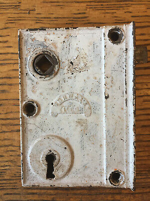 Antique Norwalk L. Co. box lock/rim lock