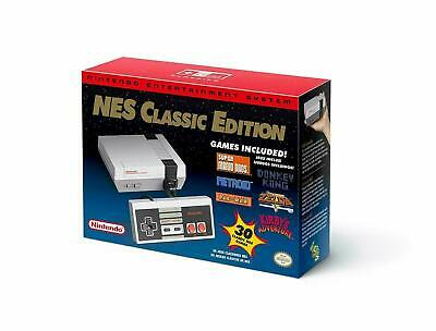 New Nintendo Entertainment System Classic Edition  Mini Nes  > North American <