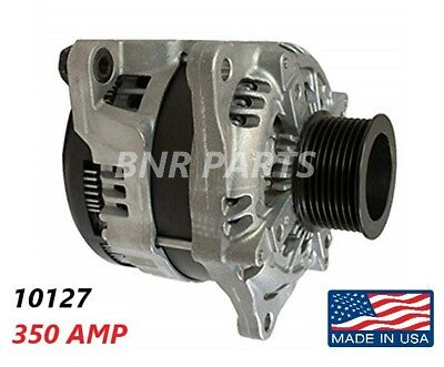 350 AMP 10127 ALTERNATOR FORD F Super Duty HIGH OUTPUT Performance NEW HD USA