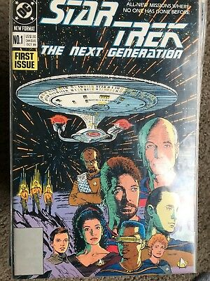 Star Trek: The Next Generation DC Series #1-80 Complete Lot