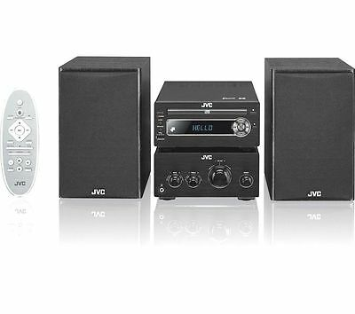 JVC UX-D750 Wireless 100 Watt Traditional DAB Hi-Fi System Black Bluetooth & NFC