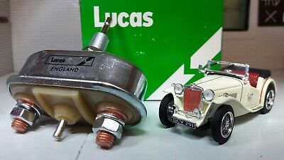 MG TF TD MGA Midget Austin A30 A35 Pull Starter Button Switch Genuine OEM Lucas