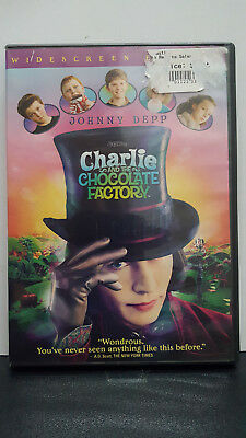 ** Charlie and the Chocolate Factory (DVD) - Johnny Depp - Free Shipping!