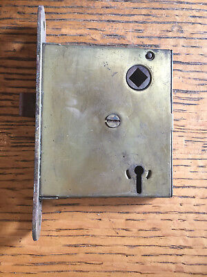 Antique steel Russell & Erwin MFG. Co. interior mortise lock