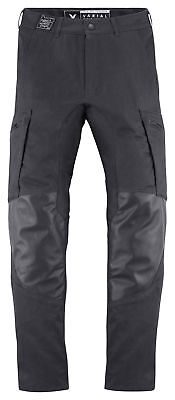 ICON 1000 VARIAL Leather/Textile Motorcycle Riding Pants (Black) Choose Size