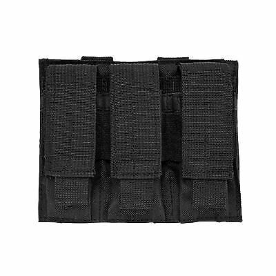 Vism By Ncstar Triple Pistol Mag Pouch - Black