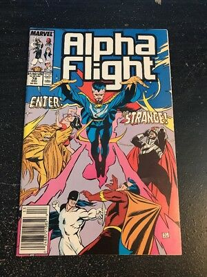 Alpha Flight#78 Incredible Condition 9.0(1989) Dr.Strange!!
