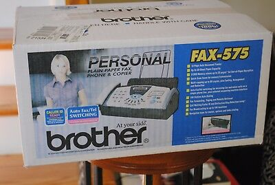 New Sealed Unopened Brother FAX-575 Plain Paper FAX Phone Copier
