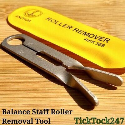 Balance Staff Roller Remover / Re Positioning Watchmakers Tool Vintage Watch