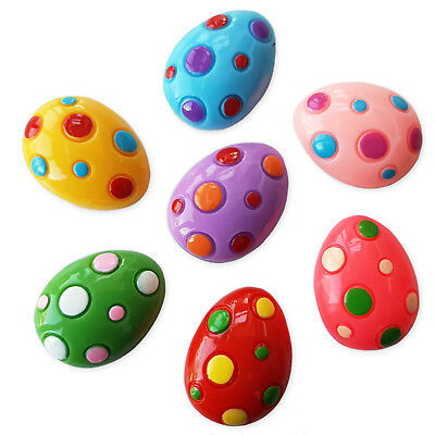 5pcs  Easter Eggs Dino Resin Flatback Cabochons Embellishment Decoden Kids Craft