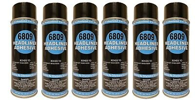 Package of 6 V&S #6809 Headliner Spray Adhesive