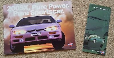 Near new!!! 1996/97 Nissan S14 200SX brochure and accessories brochure