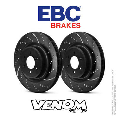 EBC GD Front Brake Discs 340mm for VW Golf Mk7 5G 2.0 Turbo R 300bhp 13- GD1877