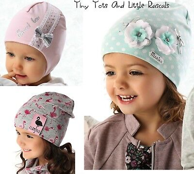 Baby Girls Toddlers Spring Autumn Cotton Elastic Beanie Hat Cap newborn -8 years