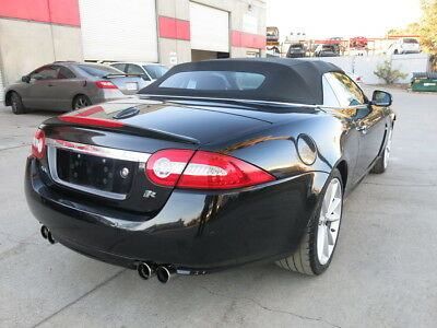 2011 Jaguar XKR Convertible Supercharge 2011 Jaguar XKR Convertible Supercharge rebuildable salvage damaged wrecked xk