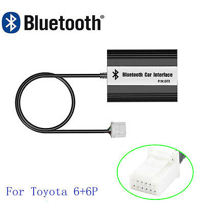 Car Bluetooth Kits MP3 AUX Adapter Interface For Toyota Scion Lexus RX 300 330