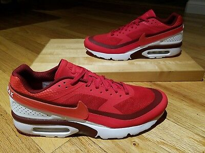 NIKE AIR MAX BW Ultra Sneakers Mens Size 13 Red White