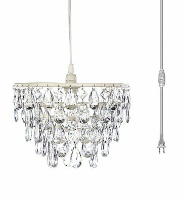 The Original Gypsy Color One Light Plugin Dome Chandelier with Five Tiers of