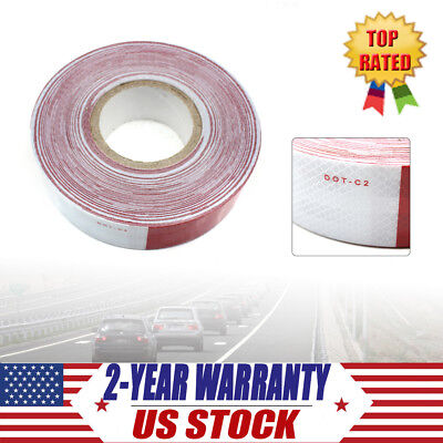 """NEW DOT-C2 Reflective Conspicuity Tape Safety 150 FOOT ROLL, 2"""" x 150 ft Feet US"""