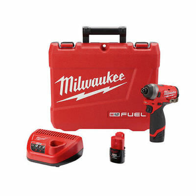 "Milwaukee 1/4"" Impact Driver Kit 2553-22 New"