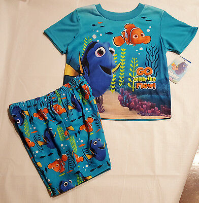 Boys 2 Piece Top & Short Finding Dory Sleep Set: 5T
