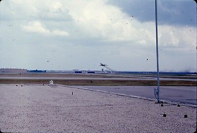 35mm Slide lot 1960s 1968 Tulsa OK airport airplane plane taking off in flight