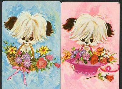 Puppy Dog Theme Swap Cards In Excellent Condition