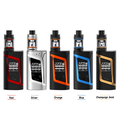 Hot SMOK Alien 220W Electronic E Kit Cigarette Big Breath 3ml TFV8 Baby Tank