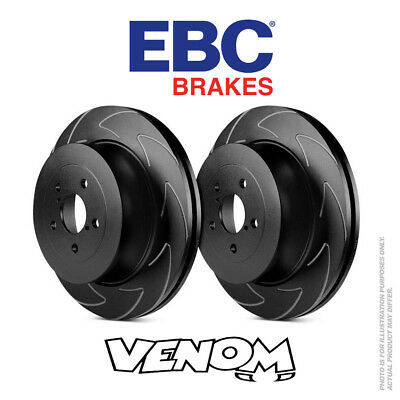 EBC BSD Rear Brake Discs 286mm for Seat Altea Freetrack 2.0 TD 2007-2015 BSD1410
