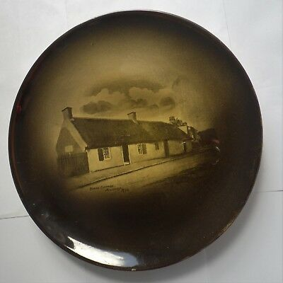 Antique Ridgway Robert Burns Cottage Alloway Ayr Design Plate