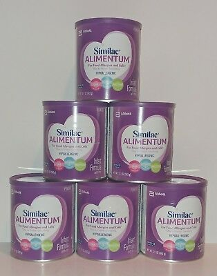 Similac Alimentum Powder Infant Formula With Iron 12.1 Oz Lot Of 6 Cans