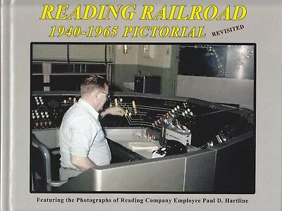 NEW*** Reading Railroad 1940-1965 Pictorial Revisited Railroad Book