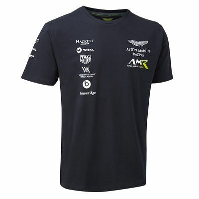 New 2018 Aston Martin Racing Team  T-Shirt-Be The First -All Sizes-Free Uk Ship