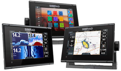 Simrad GO7 XSR Chartplotter Multi-Touch with Basemap 000-14448-001 #62600073