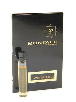 Montale White Aoud EDP Vial Sample 2ml 0.07oz New With Card