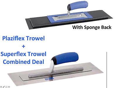 "REFINA 14"" Speed Skimming Set 228194 Superflex Trowel & 228174 Plaziflex Trowel"