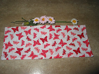 Handmade Butterfly Print Fabric Lavender Filled Yoga Relaxation Eye Pillow