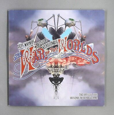 War of The Worlds - 2006 Tour Programme + 3D Glasses!