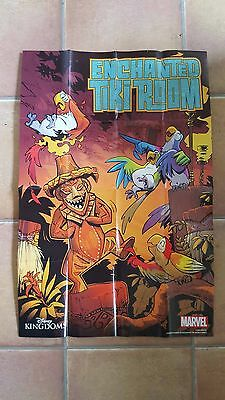 Enchanted Tiki Room - Promotional Folded Poster - Marvel