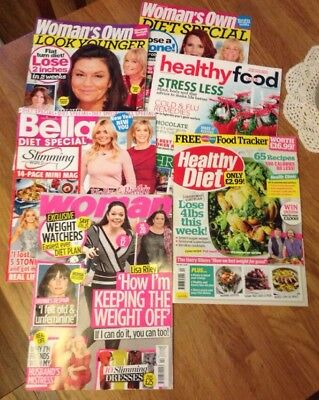Healthy Food Guide/Healthy Diet & Various  Magazines