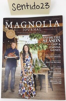 NEW | The Magnolia Journal Magazine | Issue 1 | Premier Issue | HGTV Fixer Upper