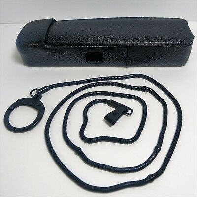 Nice Minox Model C Ever Ready Folding Leather Camera Case w/ Rare Black Chain!