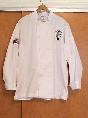 Le Cordon Bleu Chef Jacket Coat CHIC Chicago Culinary Size Large Fashion Seal