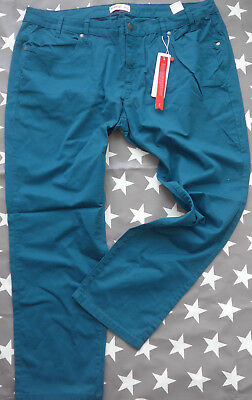 550 612 K Kurz Größen 44-52 Marine Long u Sheego Stretch Jeans Hose Gr