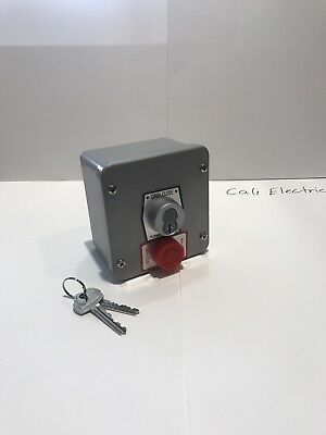 OCCE-KS Exterior key switch (stop button) Commercial Control Station Garage Door