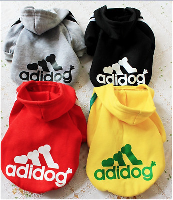 Adidog new winter dog clothes, autumn and winter puppy jumpsuit,Pet hoodies 7 co