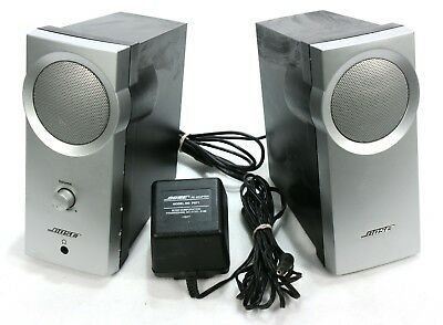 Bose Companion 2 Series II Speaker Sys. w/ PS71 (For Parts) See Below, One works