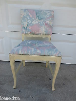 French Provincial Chair Side Desk Dining Vanity Country Victorian STYLE