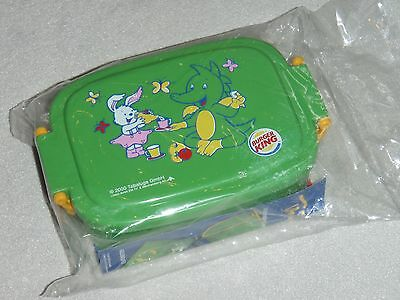 Burger King - Tabaluga Lunchbox Brotzeitbox Box - 2000 - Schule Kindergarten neu