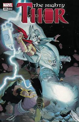 MIGHTY THOR #705 Death of Thor Ribic Variant Marvel Comics NM Presale 3/20/2018